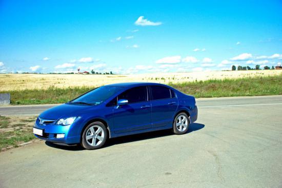 Хонда цивик 4д 2008 фото