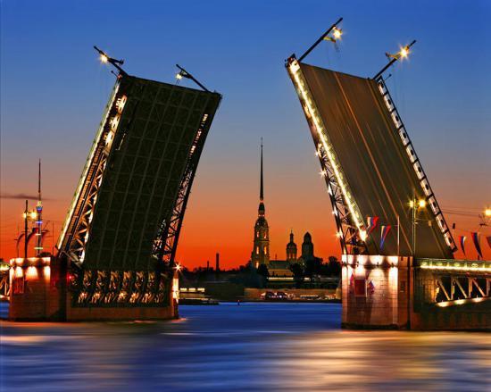 Промежуточная остановка на ночлег город Санкт-Петербург