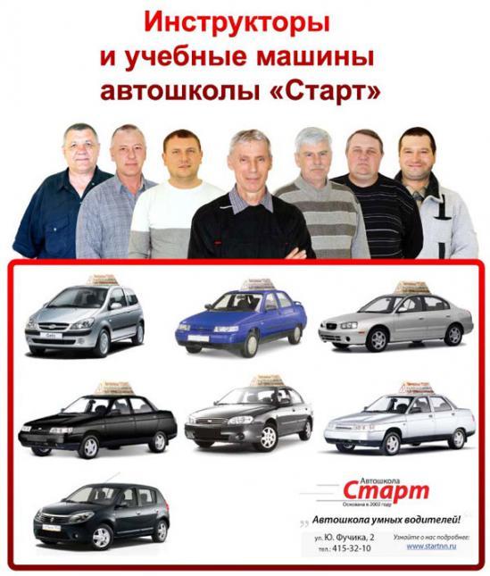 Автошкола «Старт» Воронежа: отзывы, рейтинг, цены ...