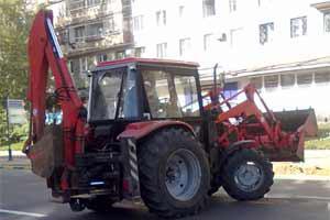 Коммунальная техника - порядок и чистота в городе