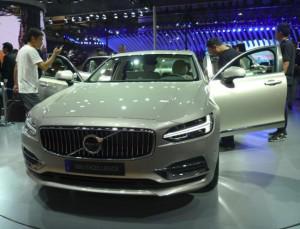 В Китае показали Volvo S90L Exellence