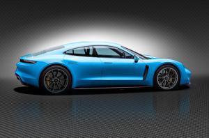 Прошли испытания электрического Porsche Mission E. ФОТО