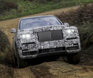 Внедорожник Rolls-Royce Cullinan. Первая информация